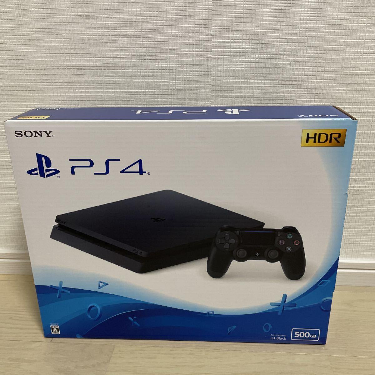 PlayStation4 500GB 新品未開封 BLACK