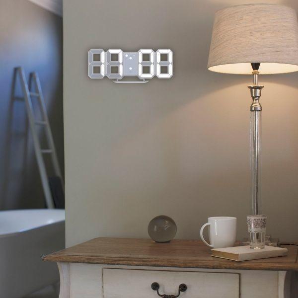 【激安】7 ☆ インテリア 壁掛け時計 デジタル ウォールクロック 選べる4色 LED Digital Numbers Wall Clock_画像4