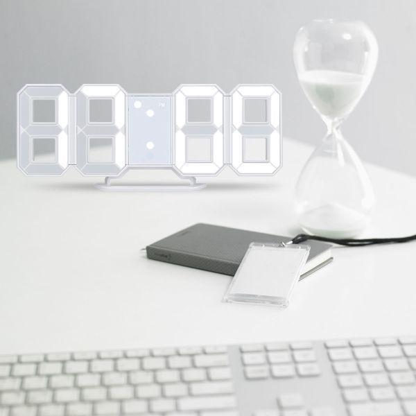 【激安】7 ☆ インテリア 壁掛け時計 デジタル ウォールクロック 選べる4色 LED Digital Numbers Wall Clock_画像6