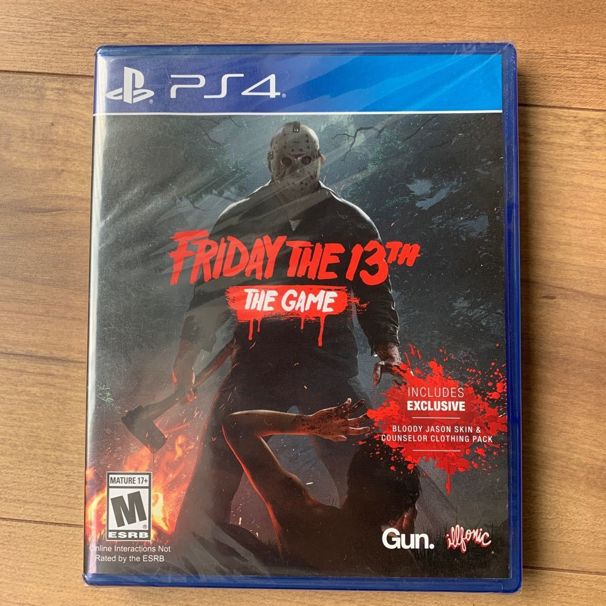 【PS4】 Friday The 13th The Game [輸入版:北米]※新品未使用