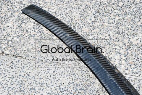 メルセデスベンツ Cクラス W205 カーボン リア トランク スポイラー / スプリッター ディフューザー バンパー トリム カバー ウイング_画像10