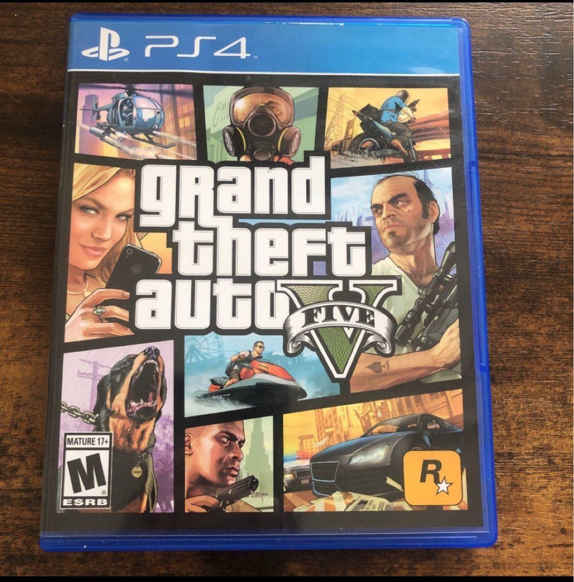 PS4 GTA5 北米版 Grand Theft Auto V grand theft auto グランドセフトオート5