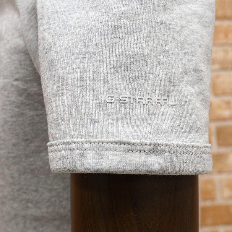 1円/春夏/G-STAR RAW/Sサイズ/2パックTシャツ BASE V T S/S 8756-124 ジャージー Vネック 無地 定番 半袖 新品/グレー/ct270/_画像4