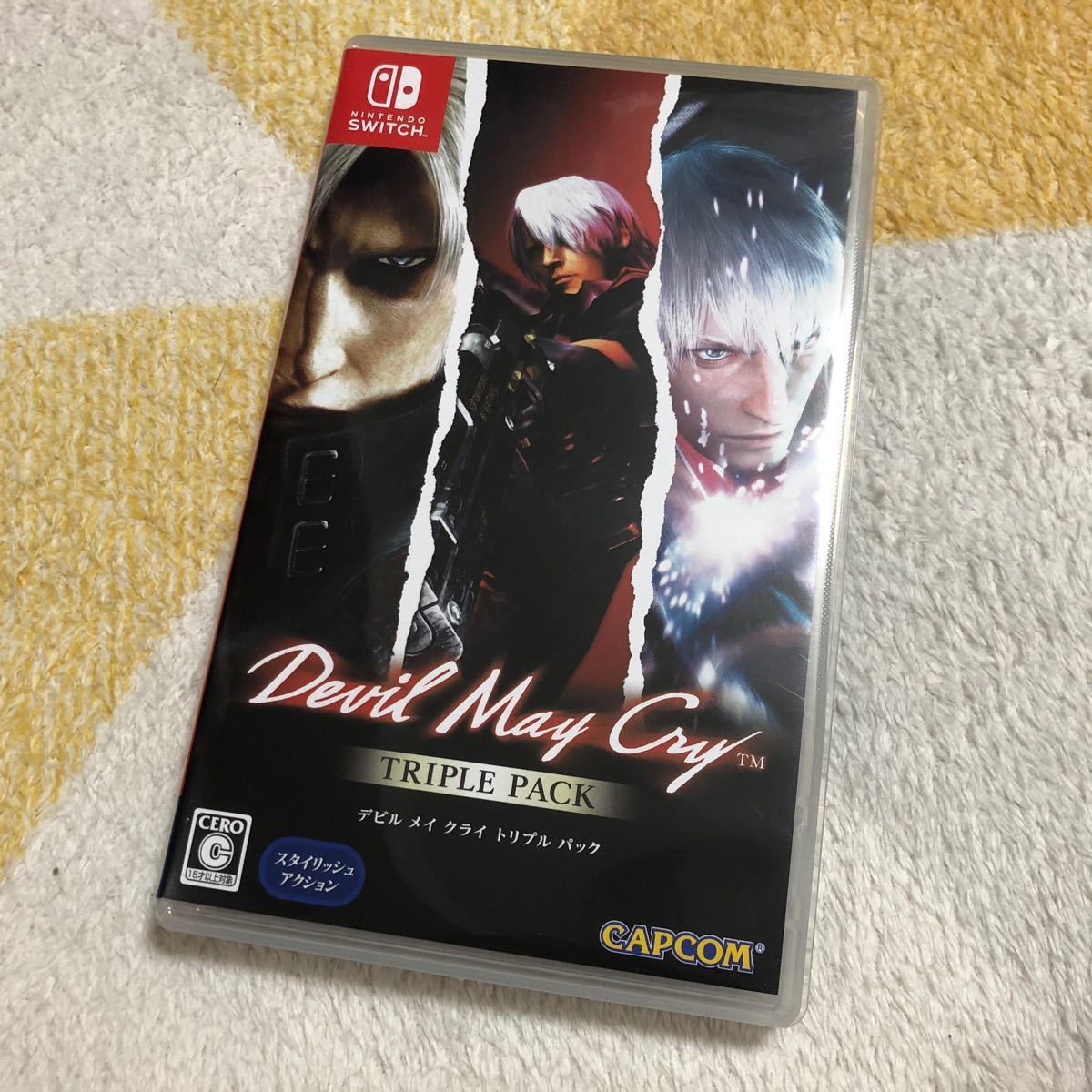 【Switch】 Devil May Cry デビルメイクライ トリプルパック(1のみ)