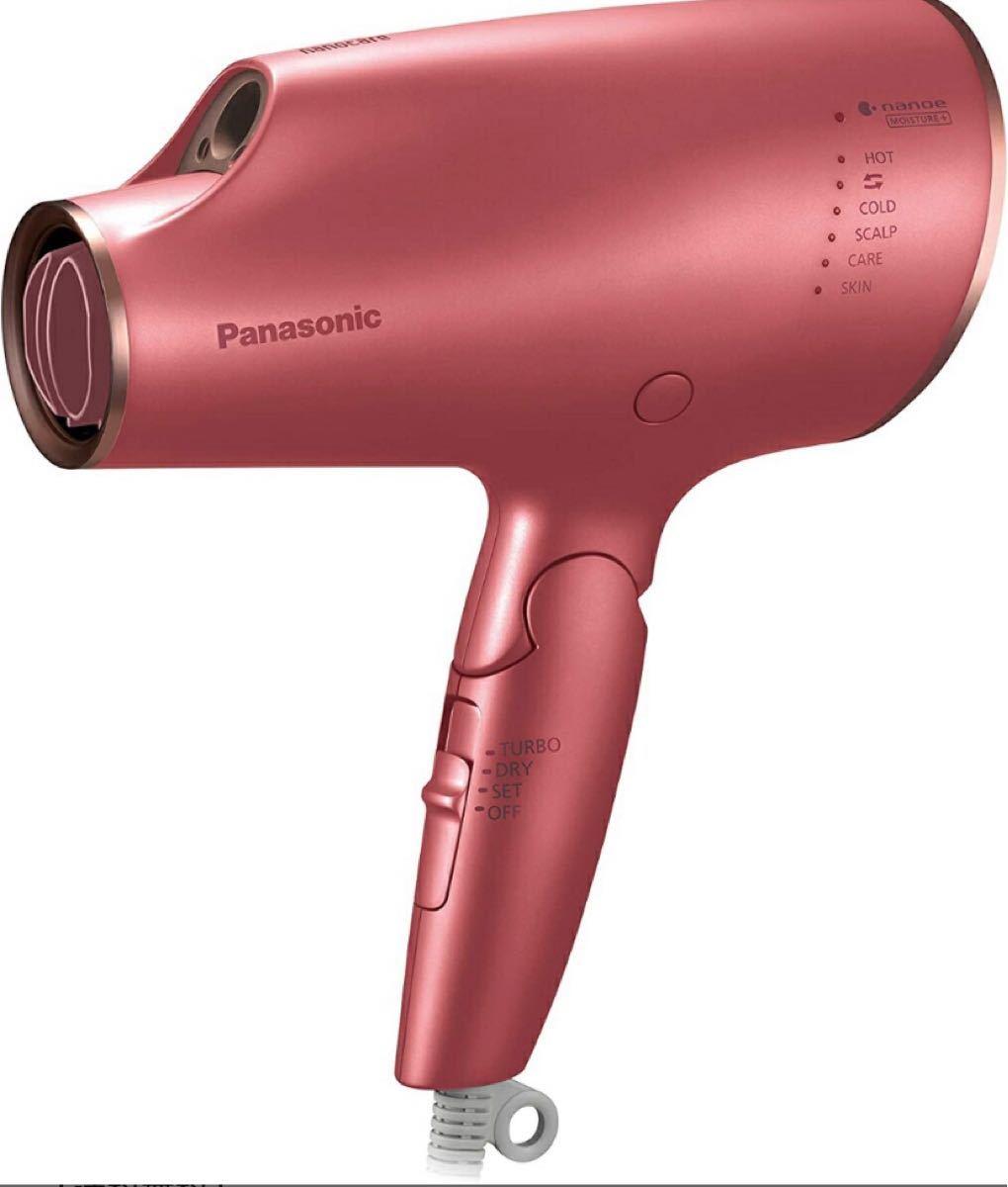 Panasonic ヘアードライヤー ナノケア (コーラルピンク)EH-NA0E-P