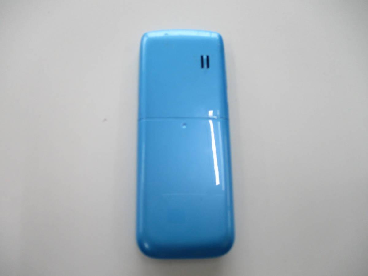 中古品 ウィルコム WX01NX 動作確認 済 携帯電話 PHS 千葉県 引き取り 可能 0円 _画像3