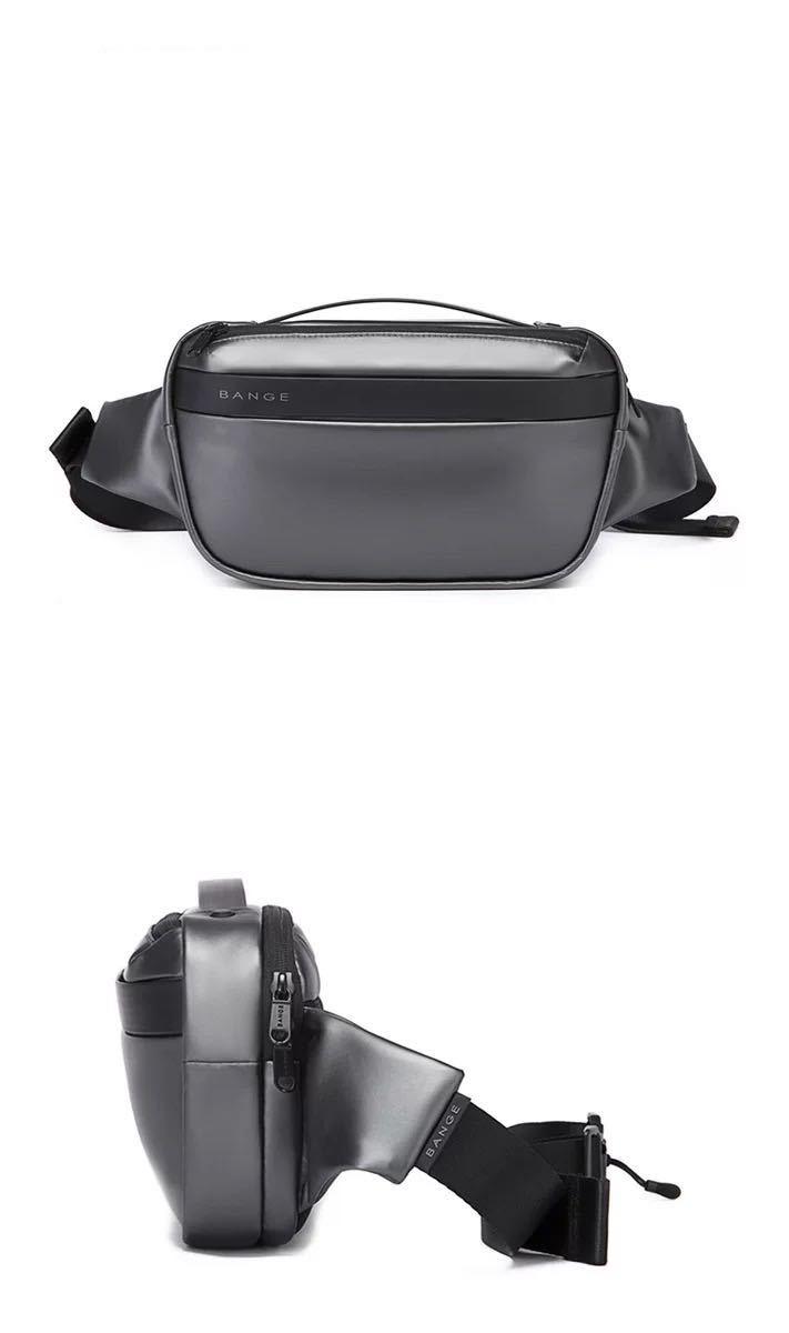 ボディバッグ 防水 メンズ ウエストポーチ ワンショルダー 斜めがけ ウエストバッグ