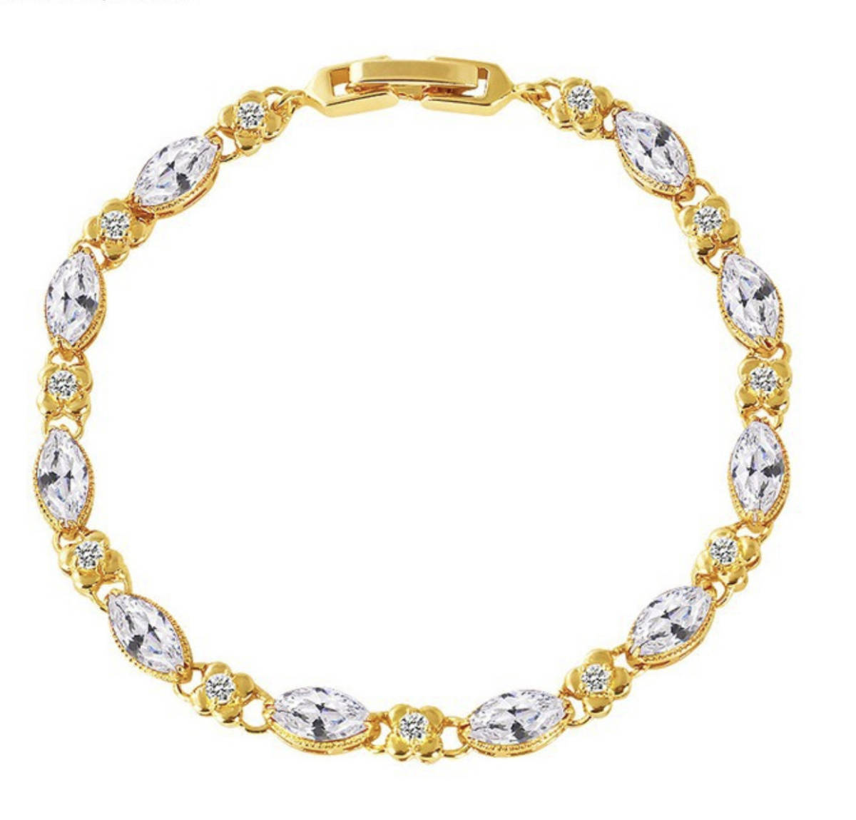 『過去最高品質』◆ 限定入荷 20石 レディースダイヤモンドブレスレット2ct【18k】注目 新品 贈答品
