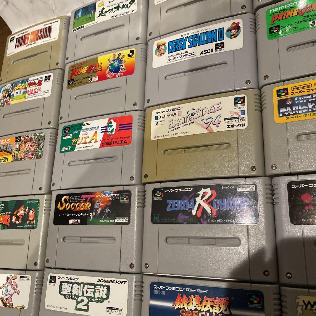 スーパーファミコン本体、付属品、ソフト30本セット