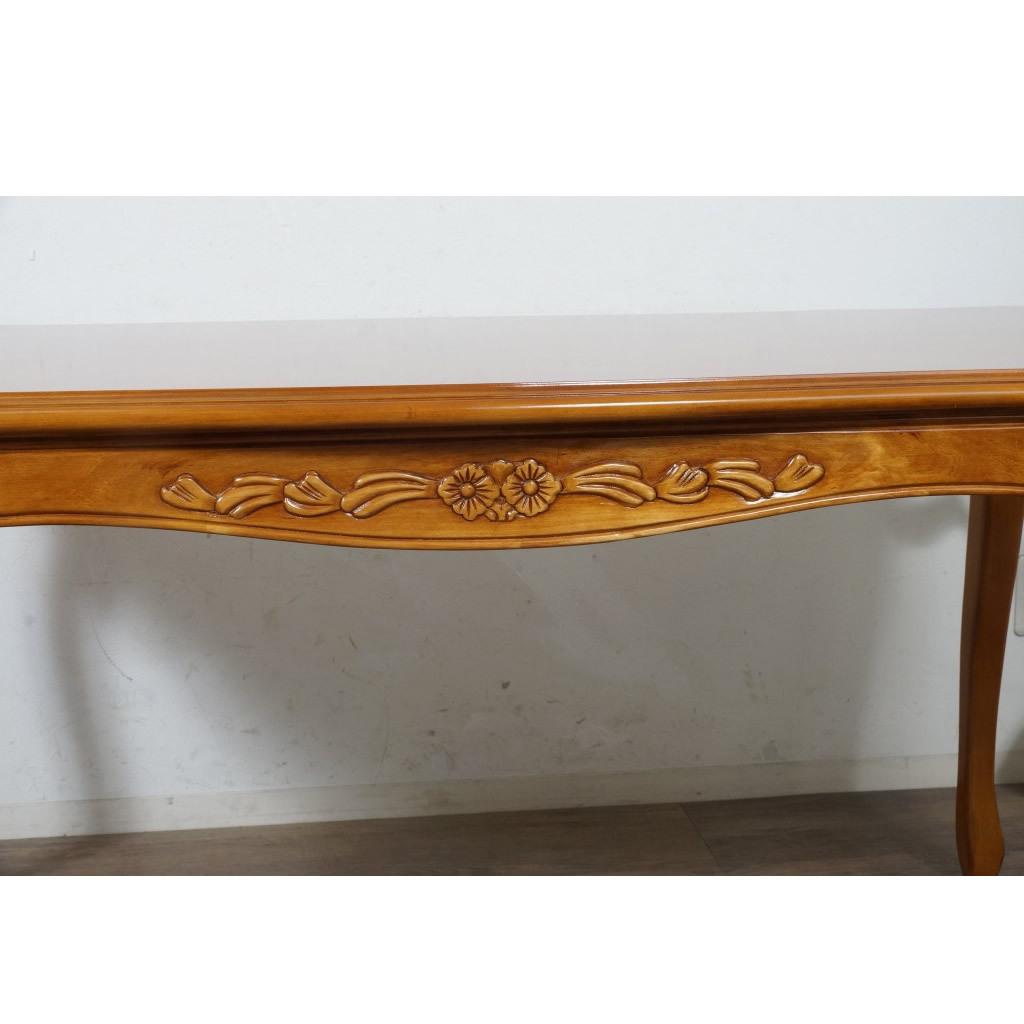 送料無料【新品】英国風 フィオーレ ロココ調 ダイニング テーブル アウトレット 家具 SAC-1175-B3-175 G2298_画像2