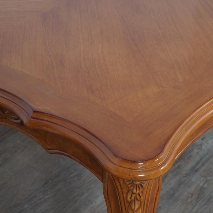 送料無料【新品】英国風 フィオーレ ロココ調 ダイニング テーブル アウトレット 家具 SAC-1175-B3-175 G2298_画像6