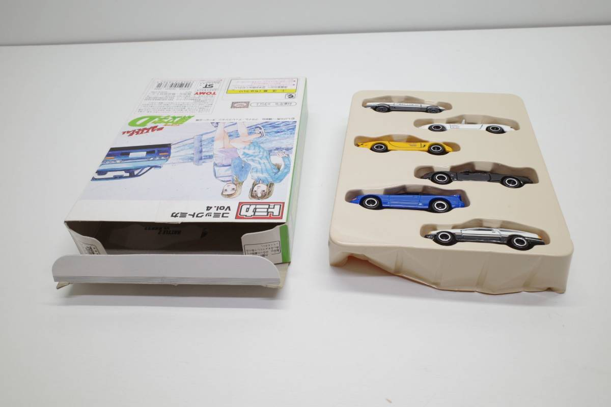 MP53A◆トミカ 頭文字D 公道最速伝説 コミック トミカ Vol.4 イニシャル D 開封あり_画像5