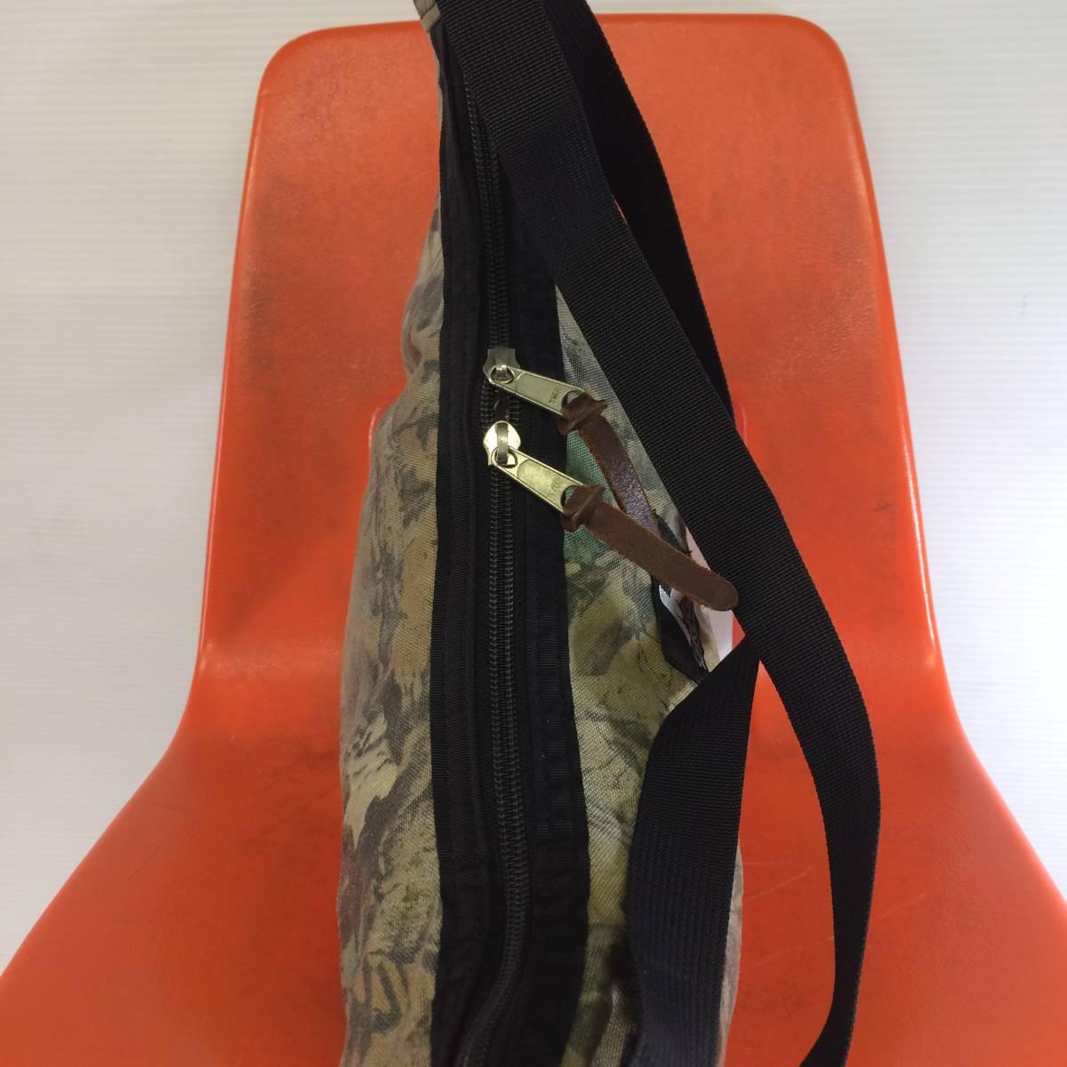 USA製 グレゴリー ラフィンバッグ アドバンテージティンバー 迷彩 gregory アメリカ製 旧タグ 三日月型バッグ ショルダーバッグ