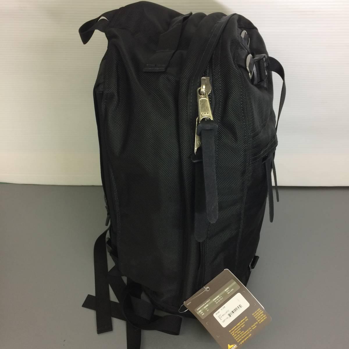 デッドストック USA製 グレゴリー デイパック ブラック バリスティック HDナイロン 旧タグ GREGORY リュック