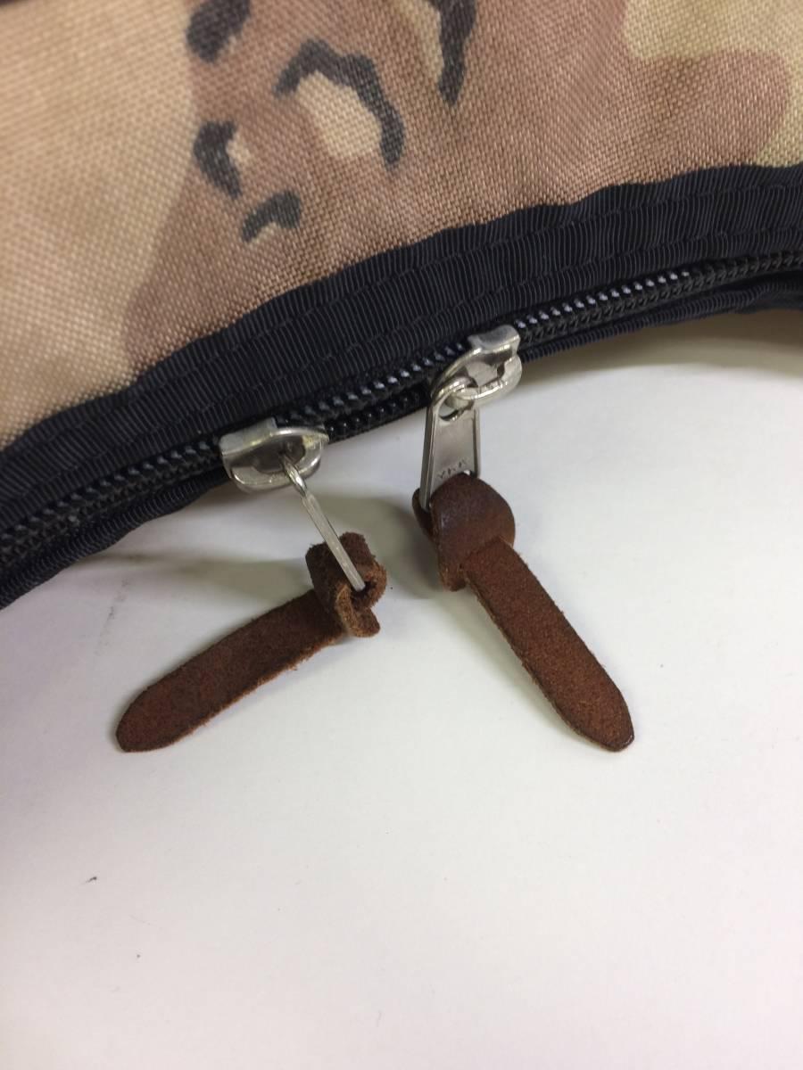 USA製 グレゴリー ラフィンバッグ チョコチップカモ 迷彩 gregory アメリカ製 旧タグ 三日月型バッグ ショルダーバッグ
