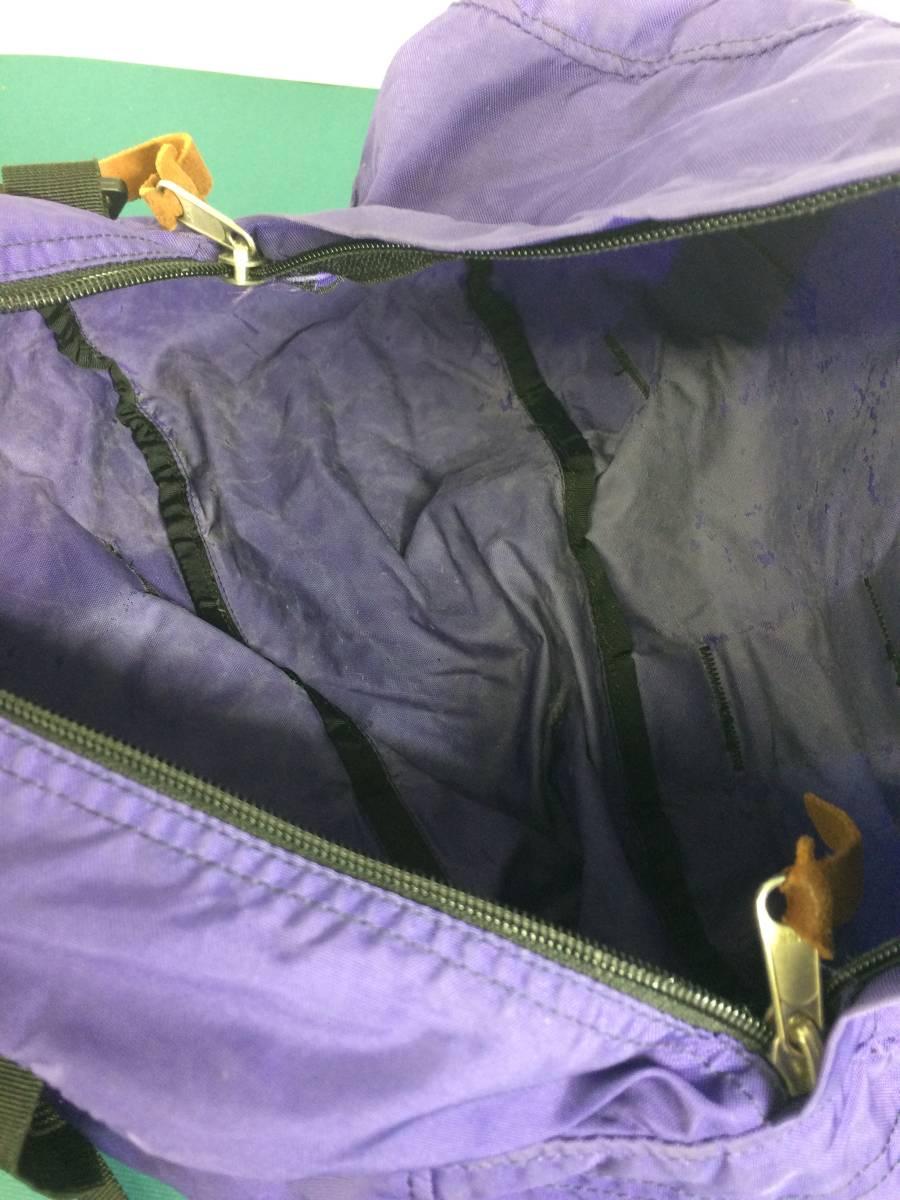 USA製 グレゴリー ダッフルXS バイオレット パープル ボストンバッグ 旧タグ