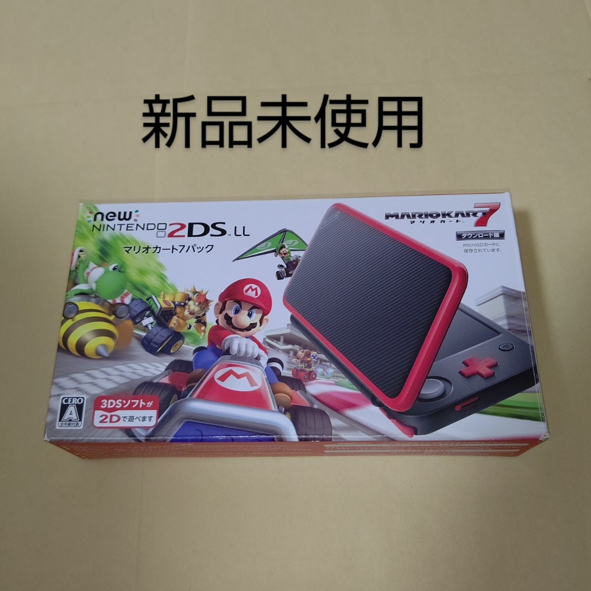Newニンテンドー2DS LL マリオカート7パック 同梱版 3DS
