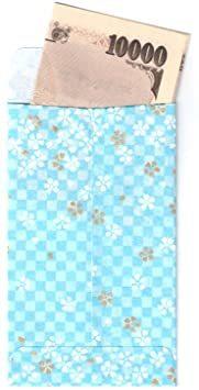 桜柄いろいろ 5柄セット 【Amazon.co.jp 限定】和紙かわ澄 特撰 友禅和紙 ぽち袋 桜柄いろいろ5柄セット_画像6