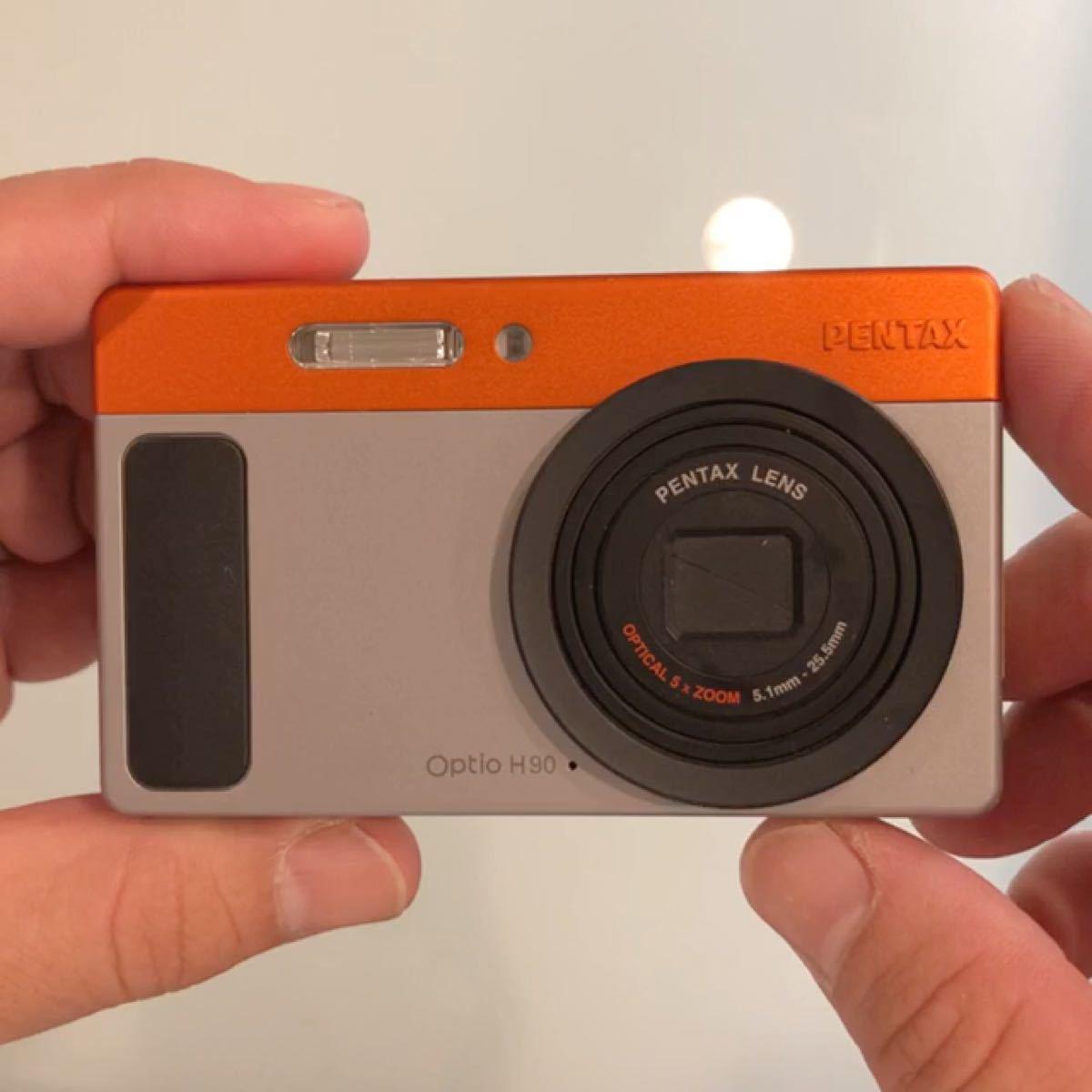 コンパクトデジタルカメラ PENTAX Optio OPTIO H90