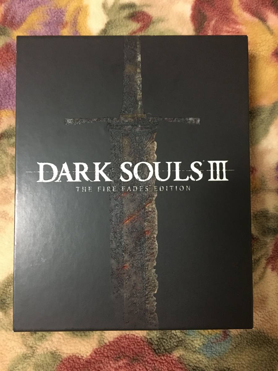 PS4 DARK SOULS III ダークソウル3 THE FIRE FADES EDITION 数量限定特典付き 美品