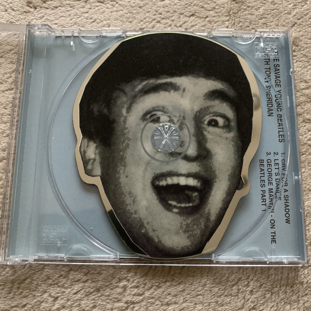 The Beatles ザビートルズ ピクチャーCD 4枚セット ヤングビートルズ