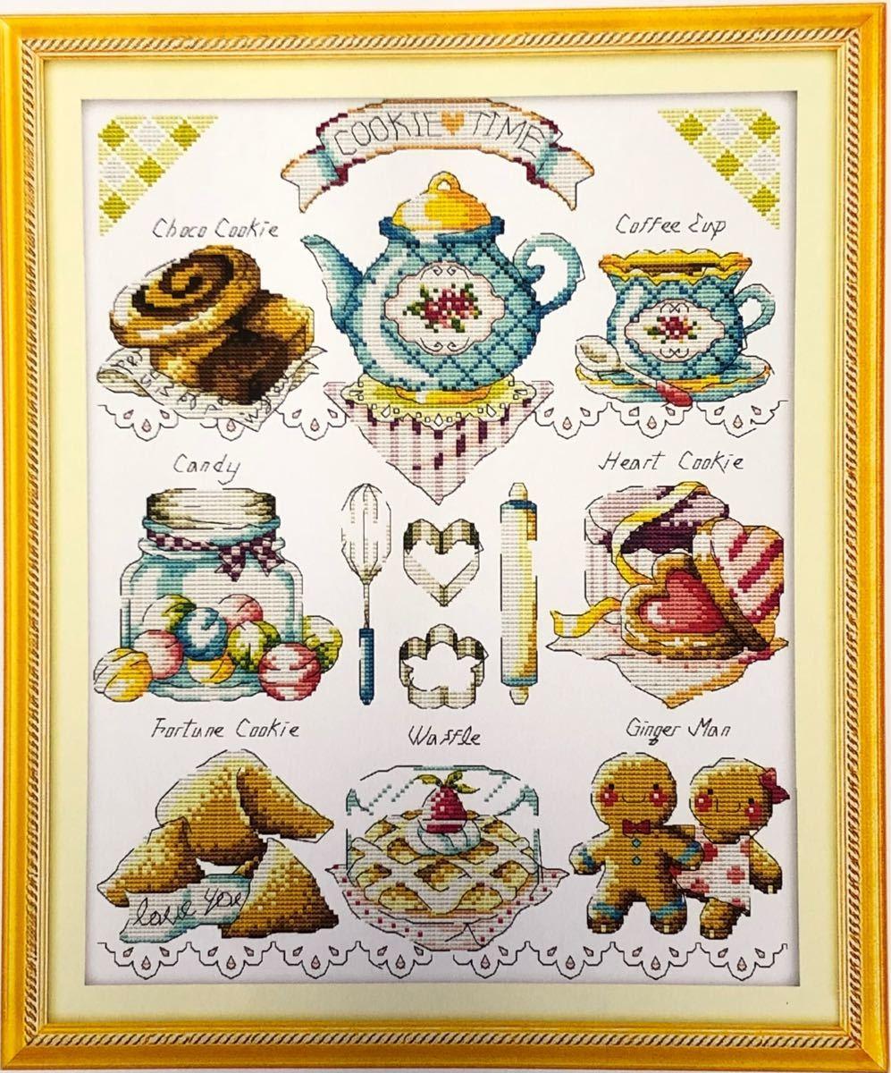クロスステッチ刺繍キット(C516)14CT