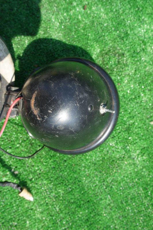 シャリー50 CF50 社外ヘッドライト ステー_画像5