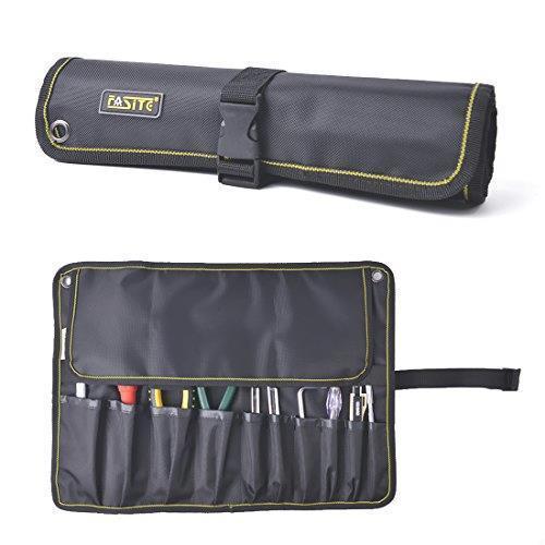 新品!! FASITE ツールバッグ 工具差し 工具袋 技術者用 作業工具 ポーチ 工具袋 ベルト付きQ7UI_画像1