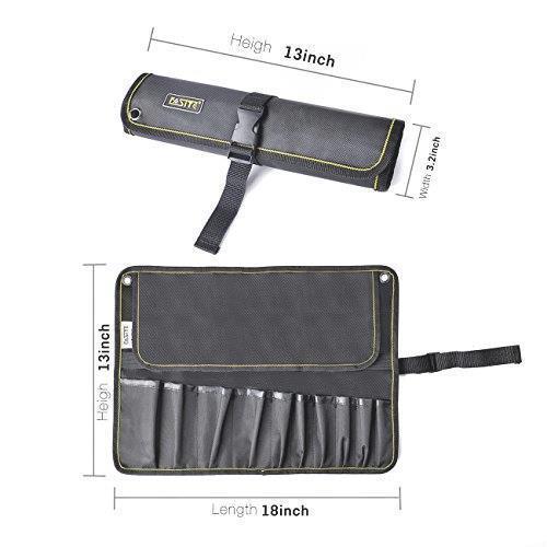 新品!! FASITE ツールバッグ 工具差し 工具袋 技術者用 作業工具 ポーチ 工具袋 ベルト付きQ7UI_画像2