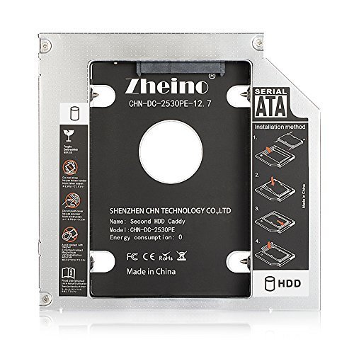 新品 CHN-DC-2530PE-12.7 Zheino 2nd 12.7mmノートPCドライブマウンタ セ2JJZ_画像2