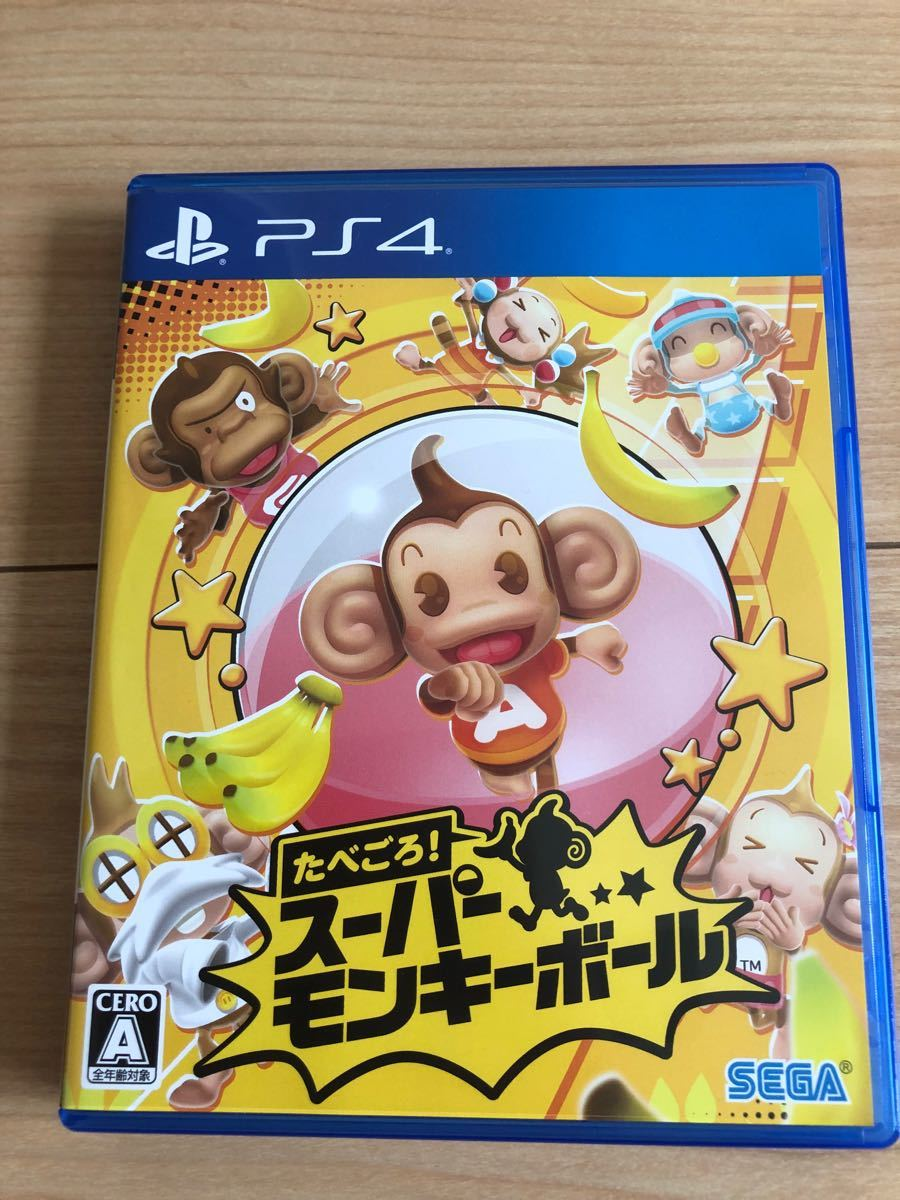 PS4ソフト スーパーモンキーボール