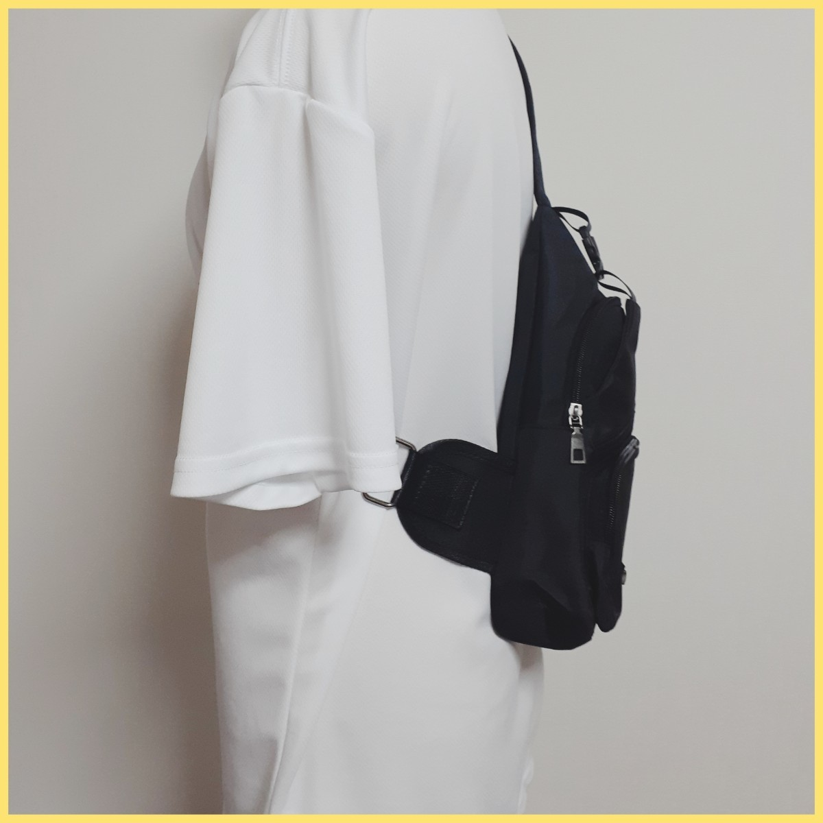 ボディバッグ メンズ・レディース かばん USBポート ケーブル付 ミニバッグ ショルダーバッグ 斜め掛けバッグ ワンショルダー