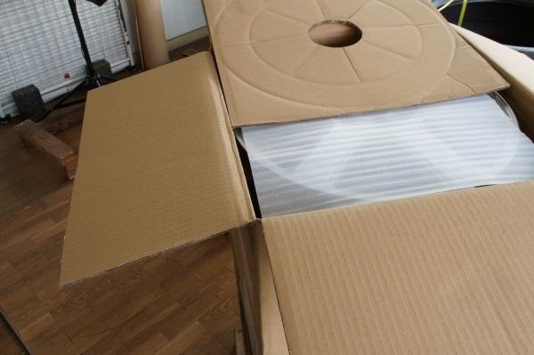 ダイハツ純正アルミホイール 4.5JX14 4本セット 税込 送料格安 宮城県名取市 来店引き取り歓迎 日時指定可 個人宅可_この様に梱包して発送致します