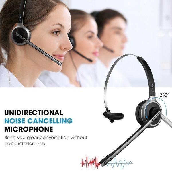 ◇衝撃価格◇Mpow M5 Bluetooth V4.1 ヘッドセット ワイヤレス ヘッドフォン ハンズフリー通話 イヤホンマイク付き_画像1
