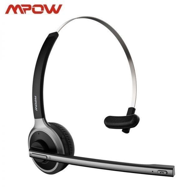◇衝撃価格◇Mpow M5 Bluetooth V4.1 ヘッドセット ワイヤレス ヘッドフォン ハンズフリー通話 イヤホンマイク付き_画像3