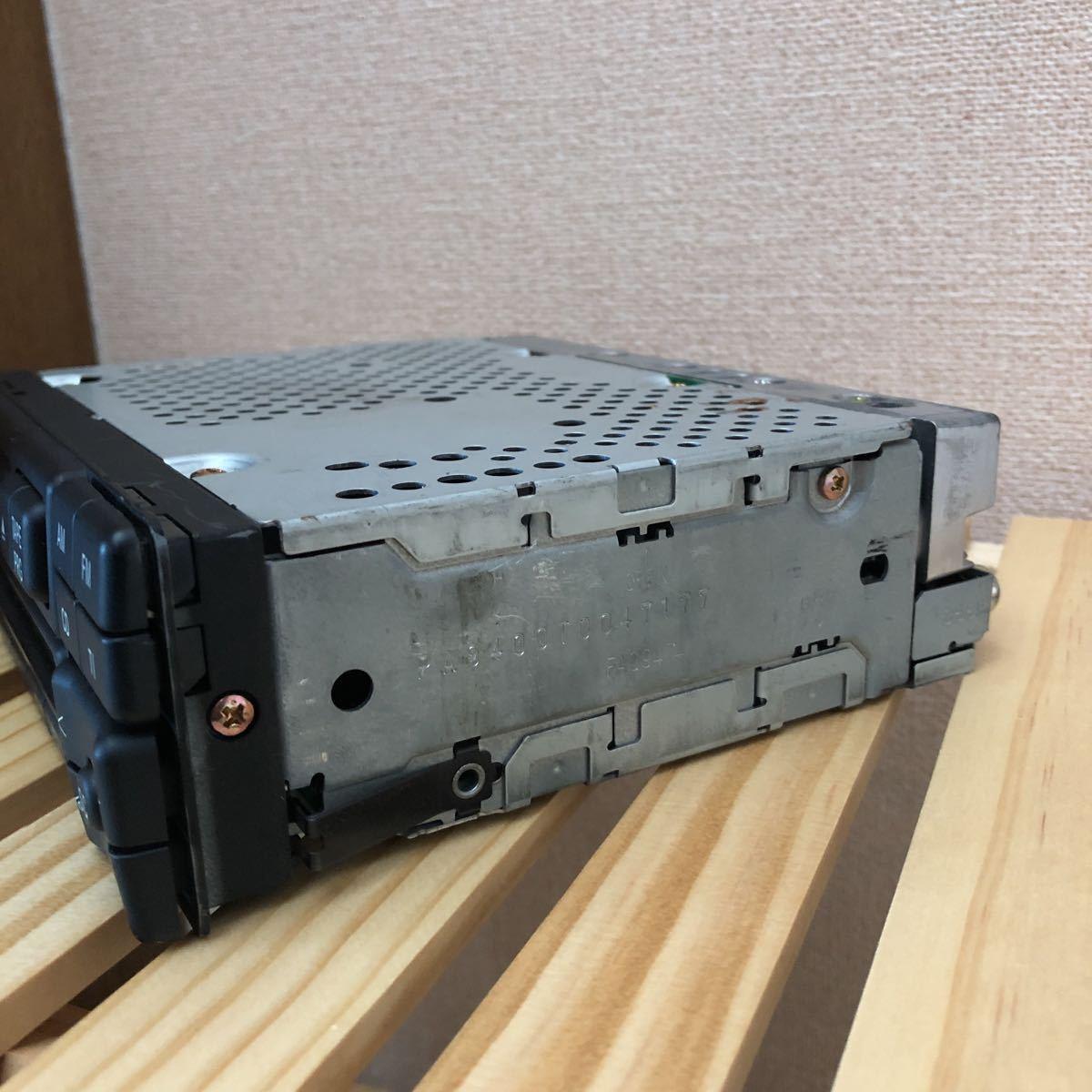 メルセデスベンツ 純正カセットデッキ W124 動作確認済み_画像3