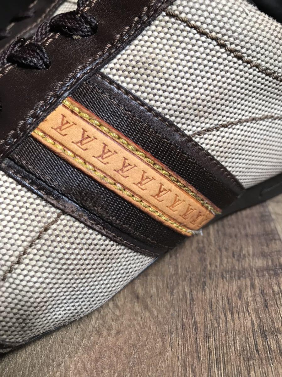 《JUNK!!》ルイヴィトン LV LOUIS VUITTON スニーカー 靴 ハイブランド 高級_画像5