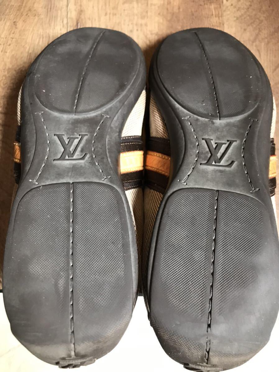 《JUNK!!》ルイヴィトン LV LOUIS VUITTON スニーカー 靴 ハイブランド 高級_画像10