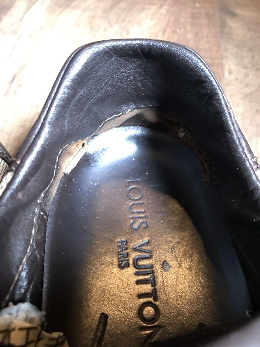 《JUNK!!》ルイヴィトン LV LOUIS VUITTON スニーカー 靴 ハイブランド 高級_画像7