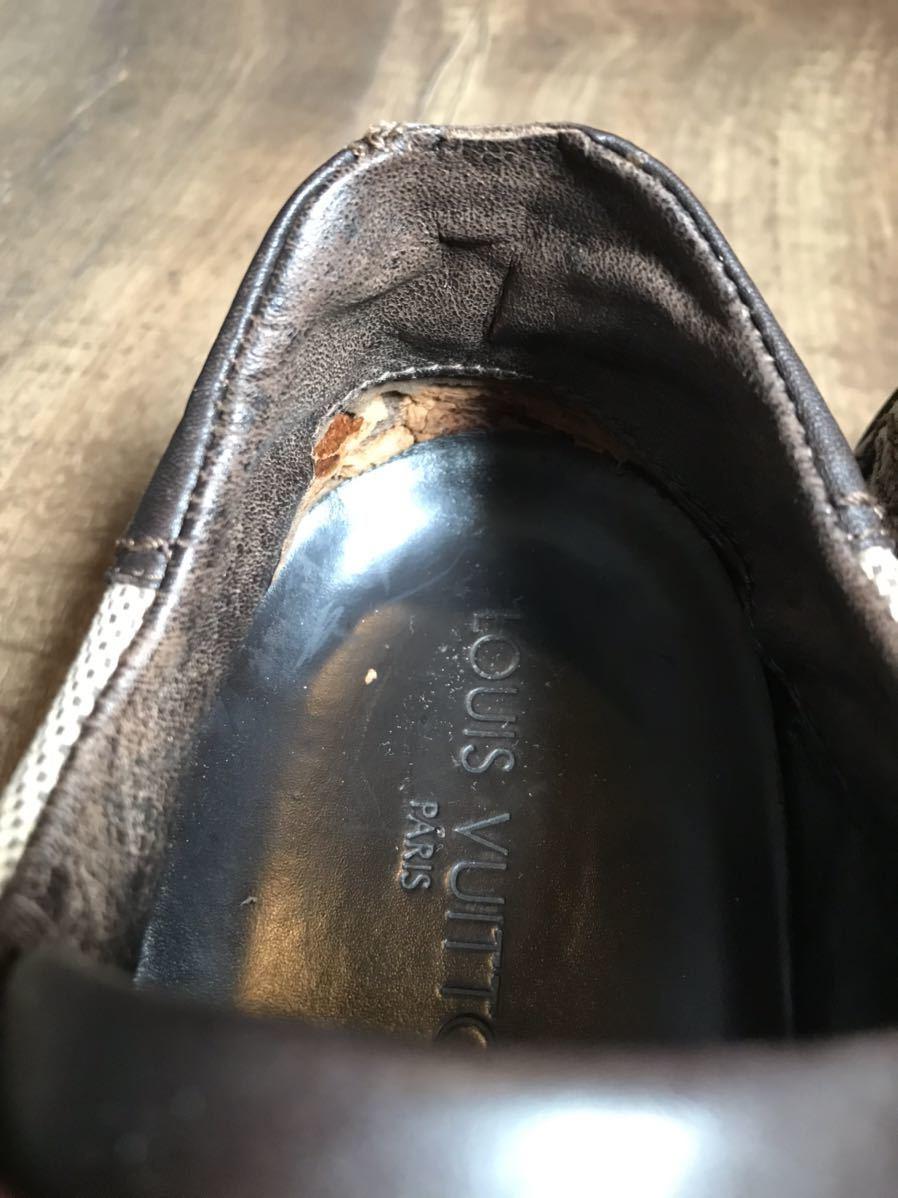 《JUNK!!》ルイヴィトン LV LOUIS VUITTON スニーカー 靴 ハイブランド 高級_画像6
