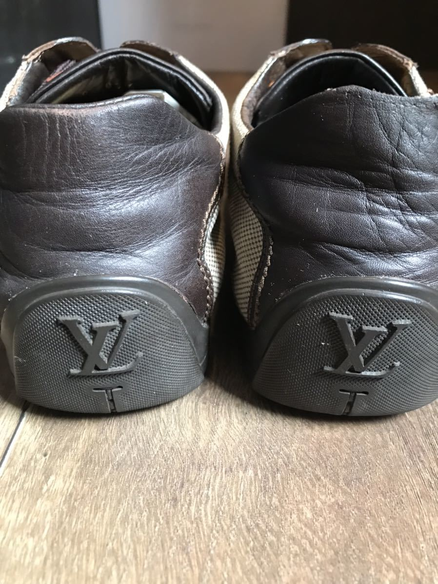 《JUNK!!》ルイヴィトン LV LOUIS VUITTON スニーカー 靴 ハイブランド 高級_画像8