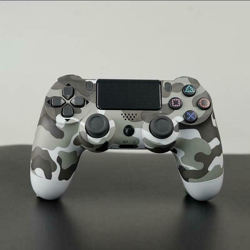 PS4 コントローラー グレー迷彩 最新モデル ワイヤレス プレステ4 互換