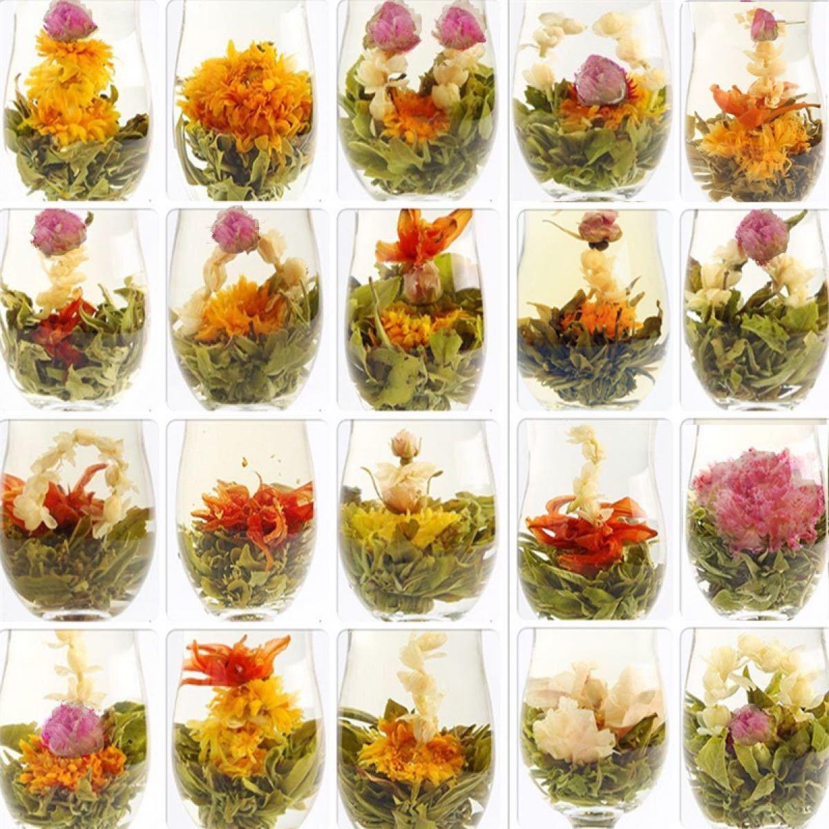 工芸茶 花茶 ハーブティー 健康茶 ジャスミン茶 手作りお茶 緑茶