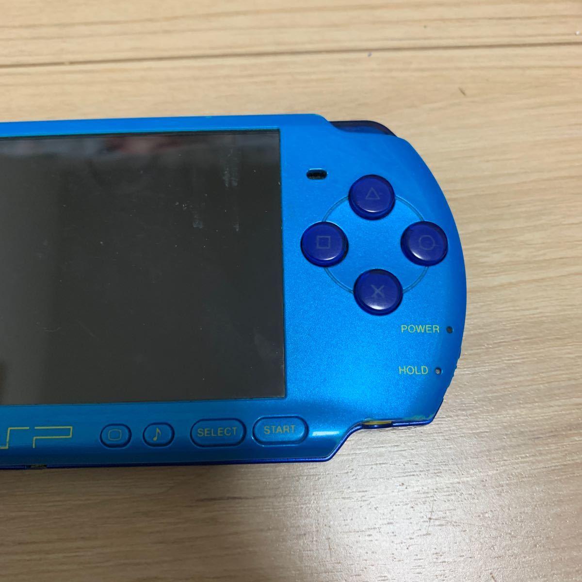 PSP-3000 PSP本体 マリンブルー スカイブルー