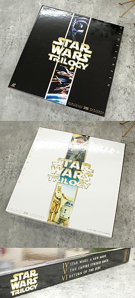 パイオニアLDC 株式会社 STARWARS TRILOGY/スターウォーズトリロジー レーザーディスク6枚組 白(C-3PO)&黒(ダースベイダー)のBOX LD_画像10