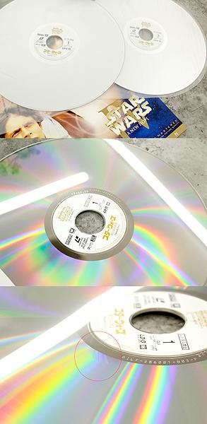 パイオニアLDC 株式会社 STARWARS TRILOGY/スターウォーズトリロジー レーザーディスク6枚組 白(C-3PO)&黒(ダースベイダー)のBOX LD_画像7