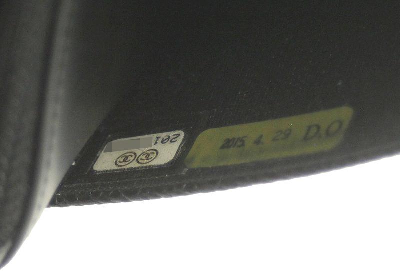 CHANEL/シャネル チェーンウォレット キャビアスキン ブラック 黒 SV 斜め掛け ココマーク レディース A48654 ギャラ 箱付_画像9
