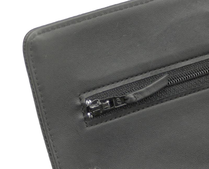 CHANEL/シャネル チェーンウォレット キャビアスキン ブラック 黒 SV 斜め掛け ココマーク レディース A48654 ギャラ 箱付_画像8