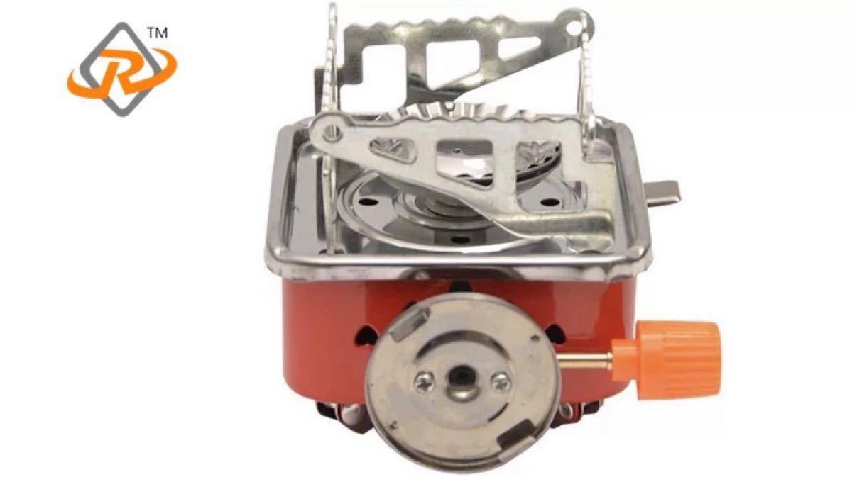ガスバーナー キャンプガスバーナー キャンプストーブ 火力調節圧電点火 新品