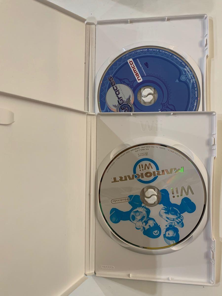 動作未確認 Wiiソフト 2本セット マリオカート他